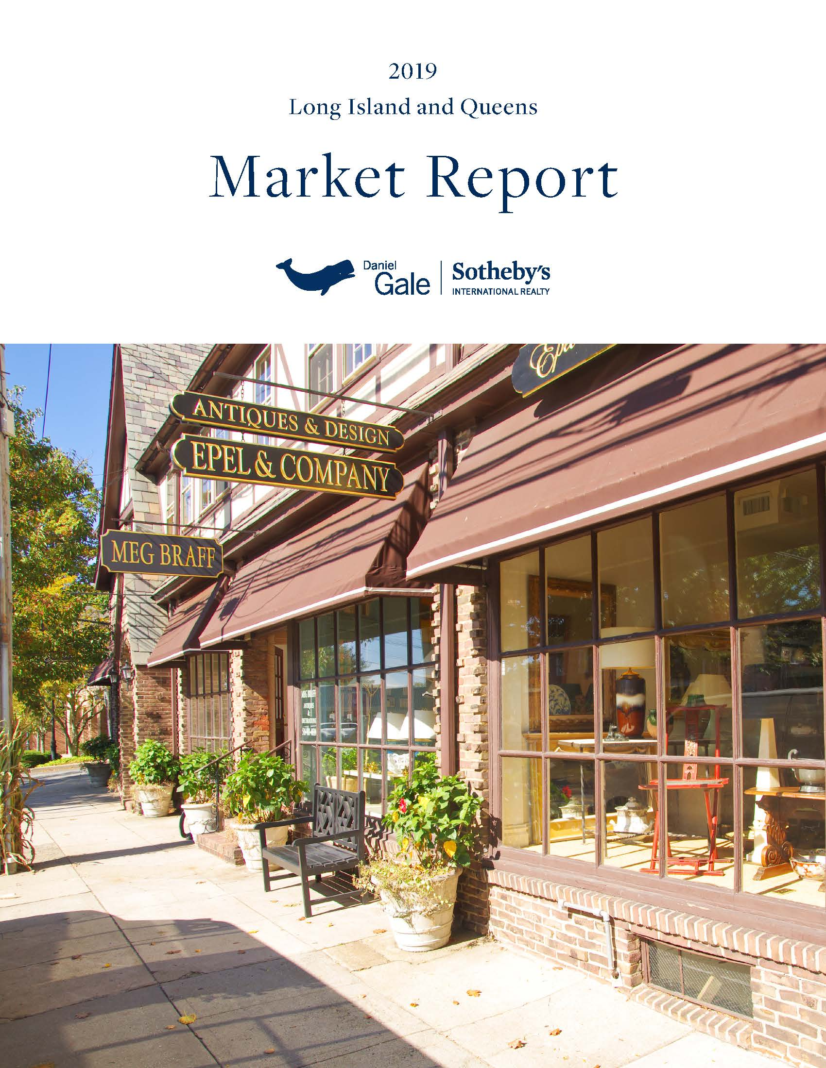 2019 YEAR END TOWN MARKET REPORT