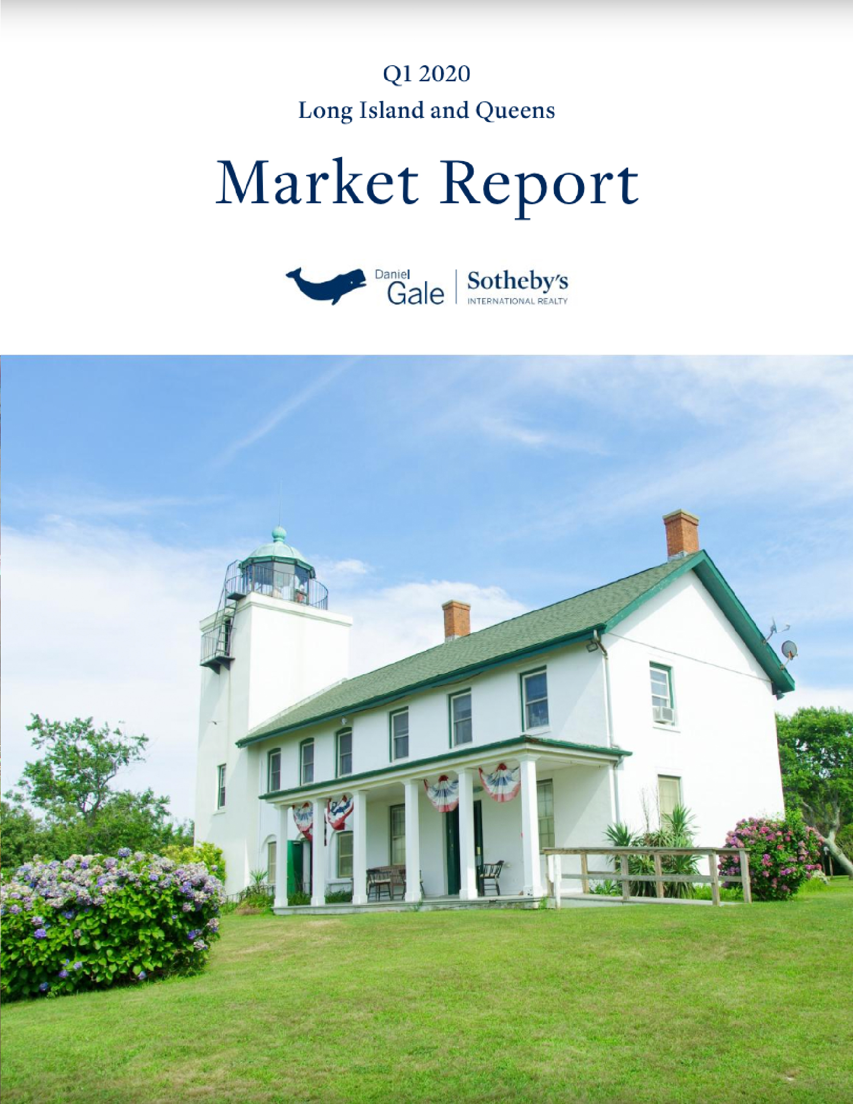 2020 FIRST QUARTER MARKET REPORT